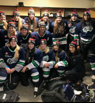 North bay aa midget girls hockey
